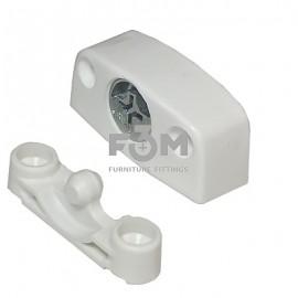 Стяжка System 4: Cambloc™, Крепление винтами, Белый, TITUS
