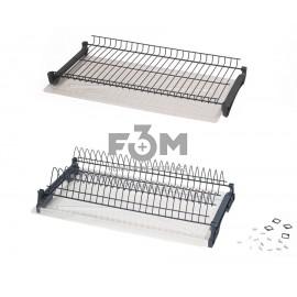 Посудосушитель графит в индивидуальной упаковке с алюминиевыми профилями:  700 мм, F3M, 1469, Посудосушители