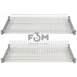 Посудосушитель хром в индивидуальной упаковке:  600 мм, F3M