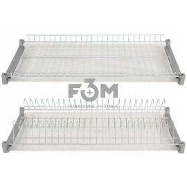 Посудосушитель хром в индивидуальной упаковке:  700 мм, F3M