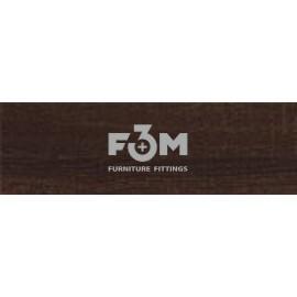 КРОМКА ПВХ, F3M, 22×2,0 : SONOMA CZEKOLADOWA - 7302, 1804, Кромка ПВХ 22x2,0