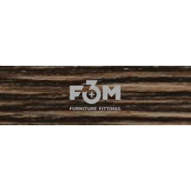 Кромка ПВХ, F3M, 42×2,0 : Венге ARUSHA - 7282, 1832, Кромка ПВХ 42x2,0