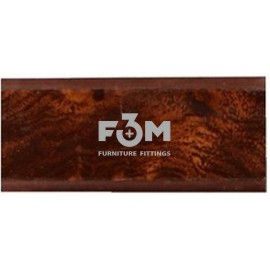 Бортик столешницы, 34×24×3000 мм, F3M:   Кореница тёмная (01), 2, Фурнитура для столешниц