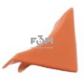Заглушка к бортику столешницы 34×24×3000 мм: Вишня, F3M, 29, Фурнитура для столешниц