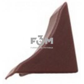 Заглушка к бортику столешницы 34×24×3000 мм: Махонь, F3M, 35, Фурнитура для столешниц