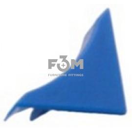 Заглушка к бортику столешницы 34×24×3000 мм: Синий, F3M, 39, Фурнитура для столешниц