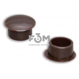 Заглушка отверстия, пластиковая, Ø 10 мм: коричневая, F3M, 665, Декоративные элементы