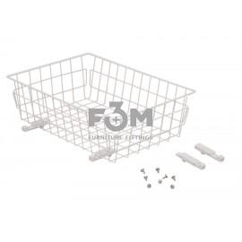 Корзина:  Белая, 40-III, без направляющих, F3M, 716, Корзины