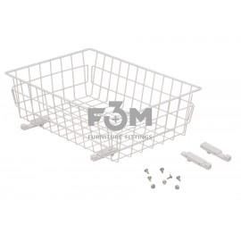 Корзина:  Белая, 50-III, без направляющих, F3M, 720, Корзины