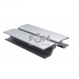 Соединитель угловой для цоколя кухонного, Универсальный:  H=150 мм, Алюминий, F3M, 794, Цоколи для кухни