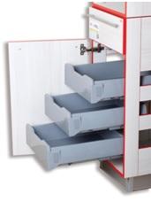 Система для выдвижения мебельных ящиков Movimento PlasticBox